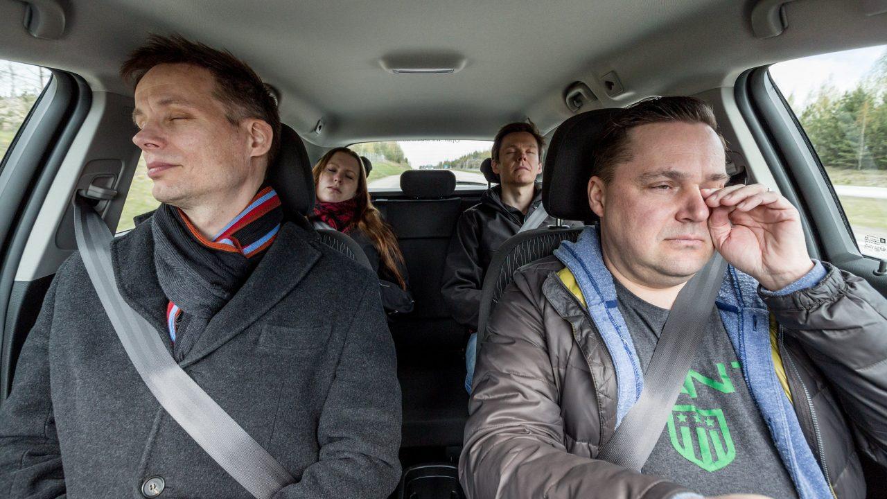 Väysymys liikenteessä vaarantaa liikenneturvallisuuden