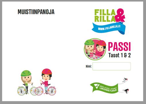Filla & Rilla -passi 1 ja 2 tasoille