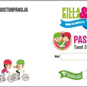 Filla & Rilla -passi 3 ja 4 tasoille