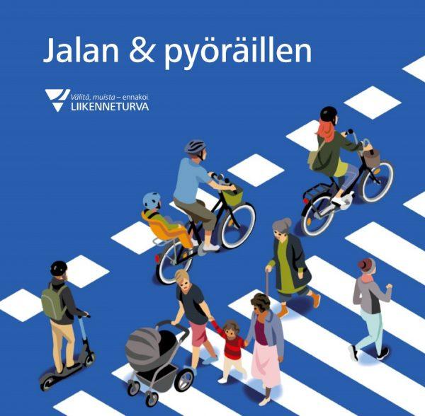 Jalan ja pyöräillen -oppaan kansikuva