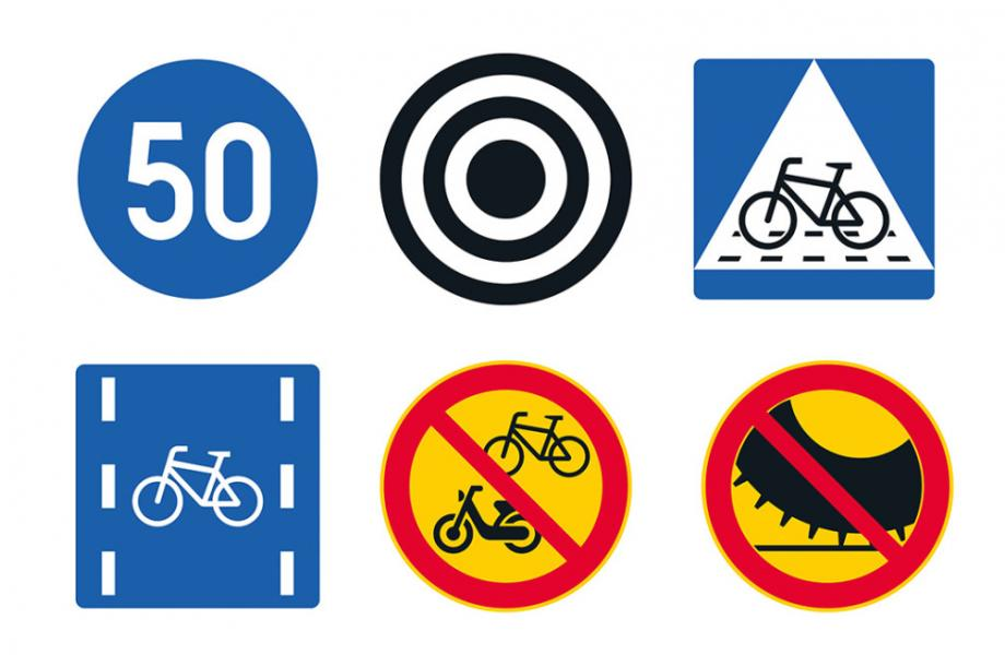 1.6.2020 voimaan tullut tieliikennelaki toi uusia liikennemerkkejä.